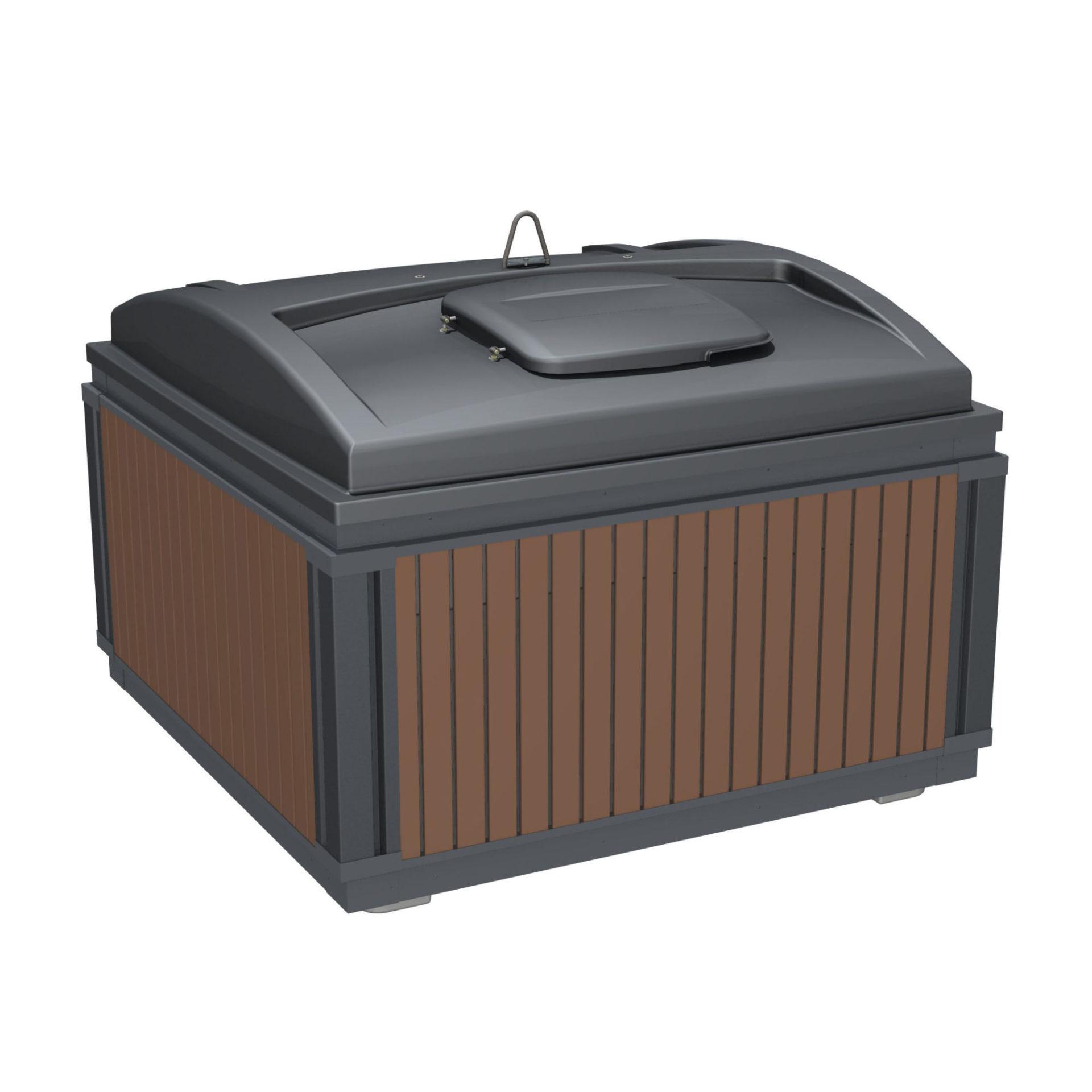 conteneur de surface MolokDomino light 2m3