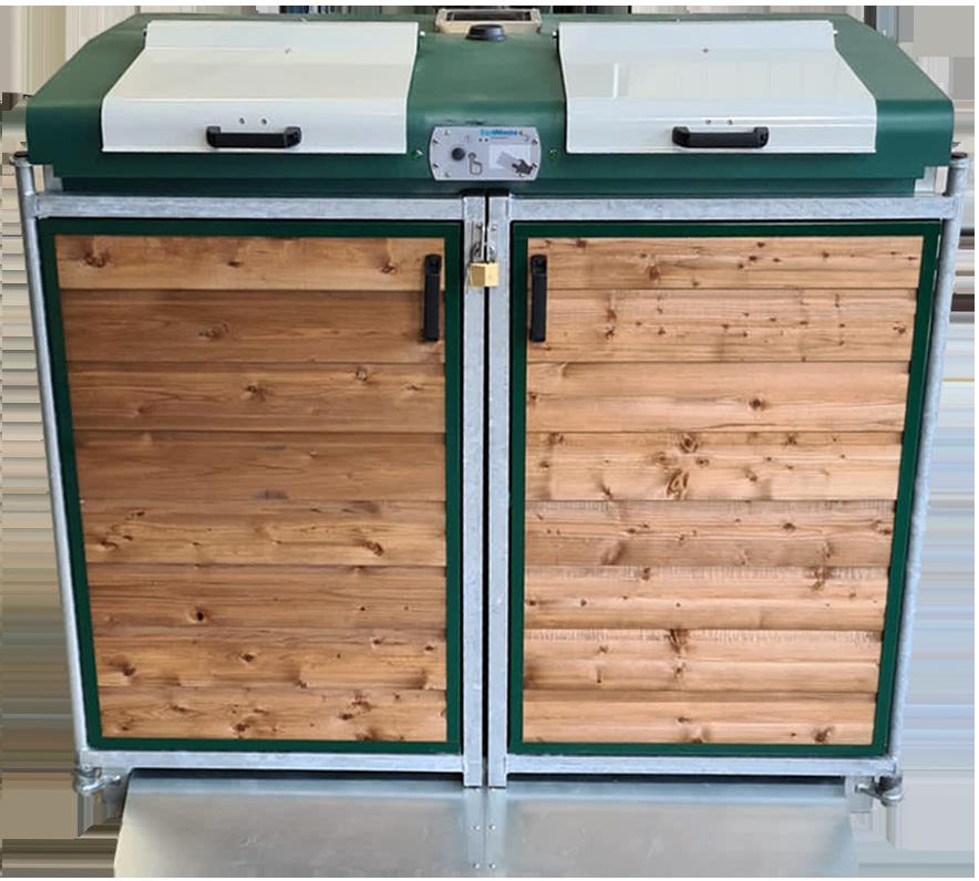 Conteneur de surface pour déchets verts biologistics