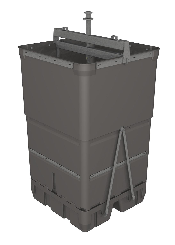 cuve pour déchets verts 4550 litres