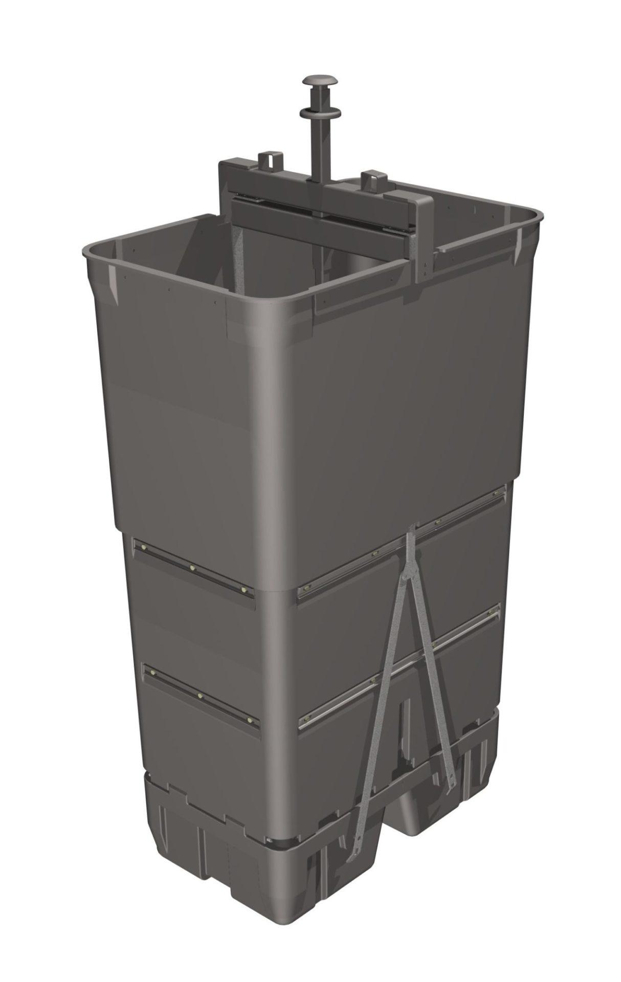 cuve pour déchets verts 2740 litres