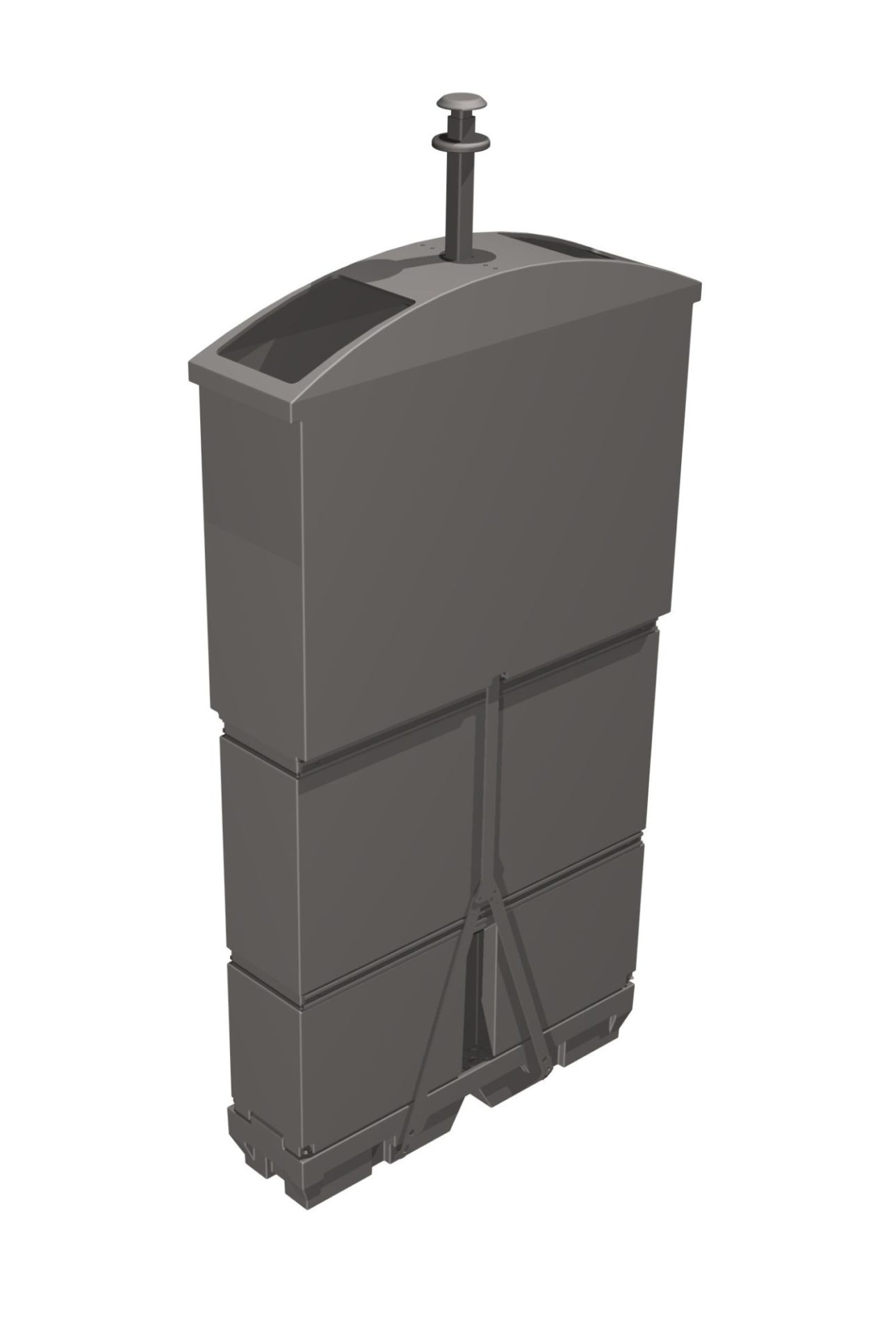 cuve pour déchets verts 1000 litres